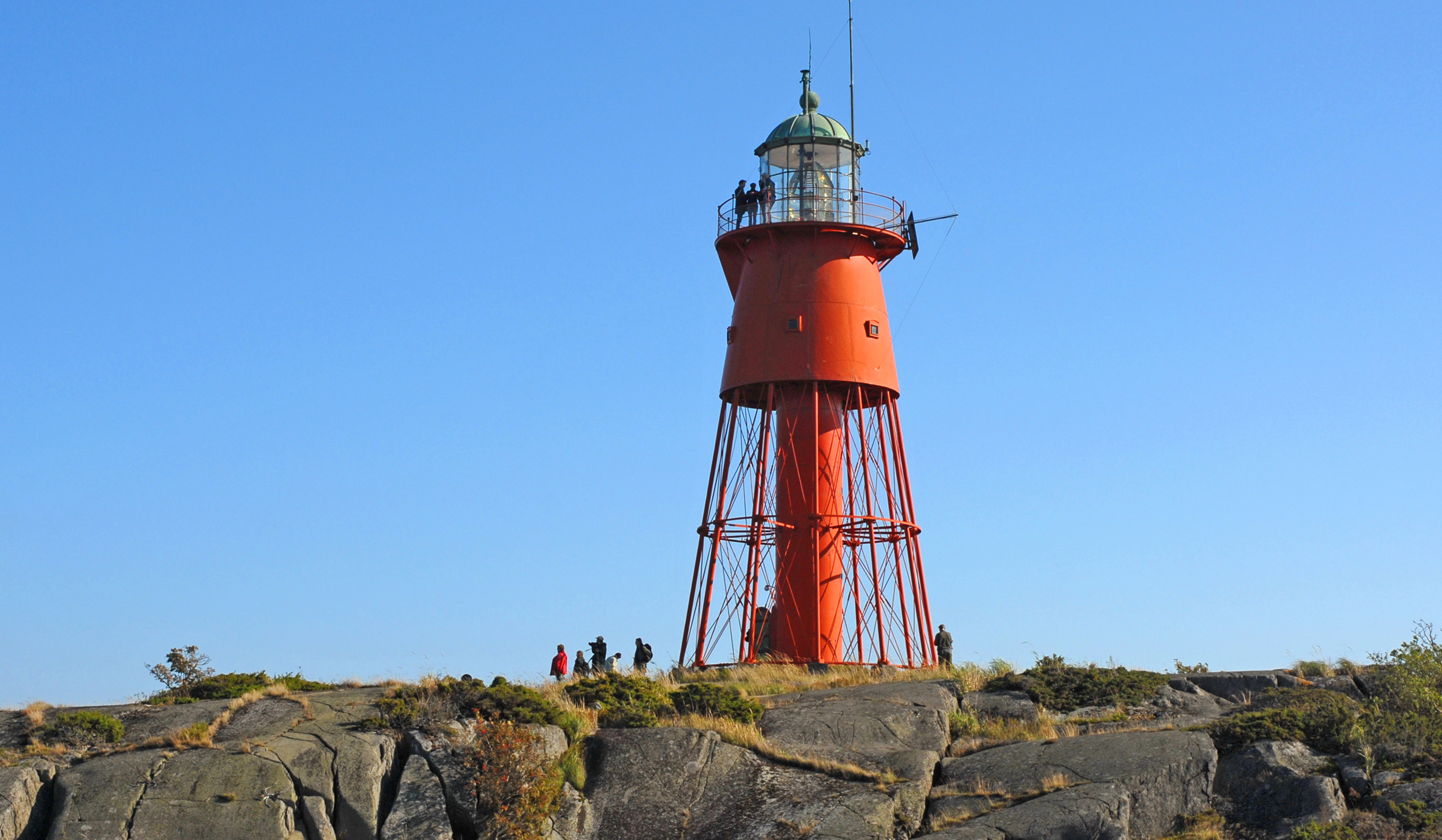 Swedish Högarna lighthouse