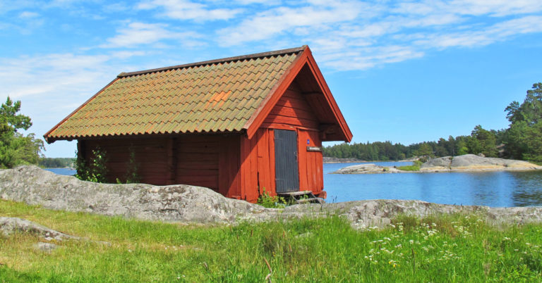 Picnic cabin on Björnö